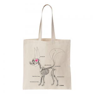 Stereofox skeleton tote bag